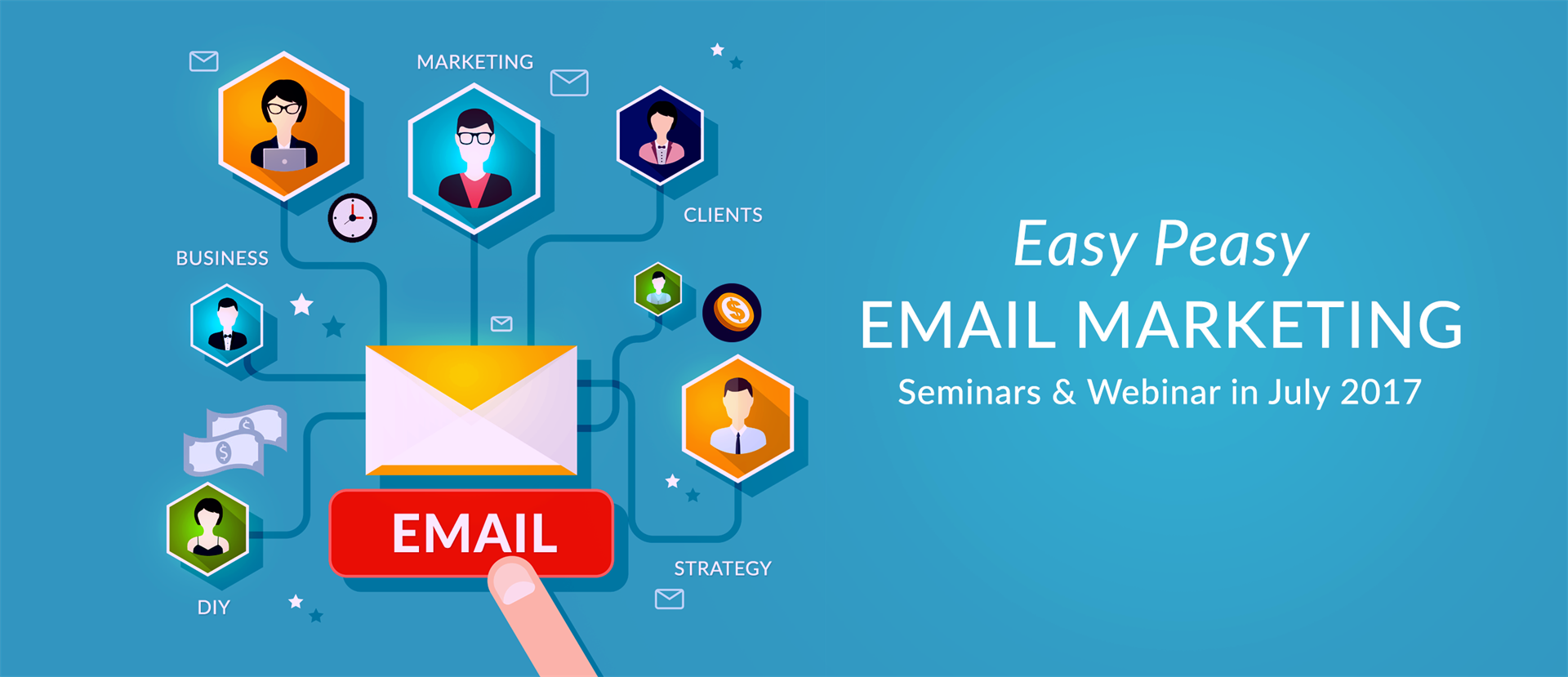 Easy Peasy Email Marketing Seminar on Friday July 21 at the DIY in Vancouver