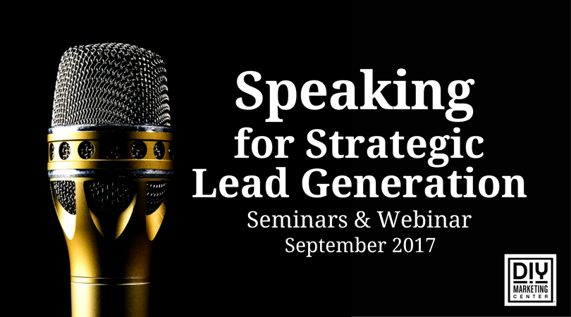 Speaking for Strategic Lead Generation webinar & seminar in Vancouver