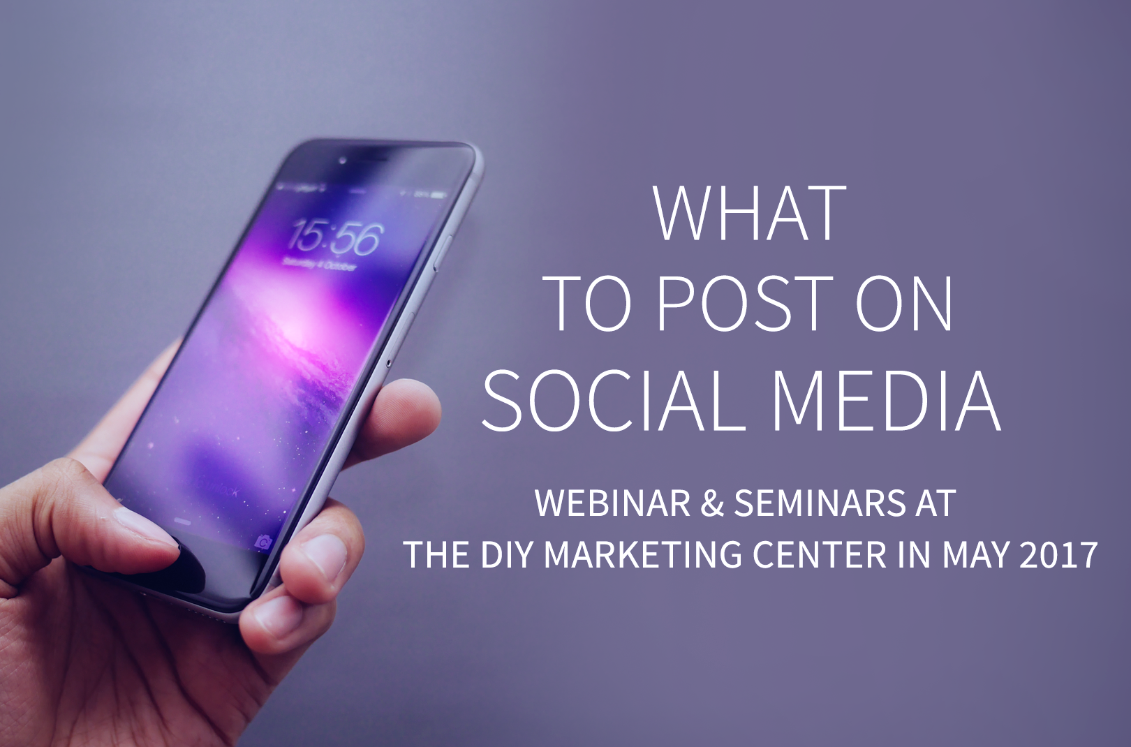 What to Post on Social Media Seminar in PDX Thursday