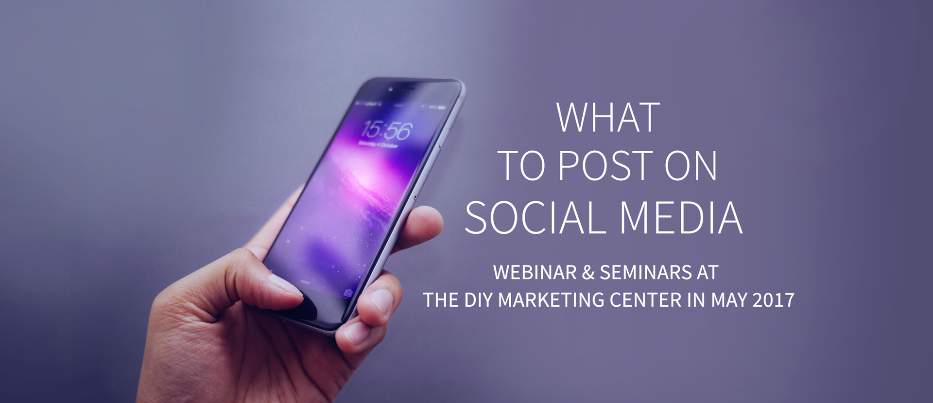 May Webinar What to Post on Social Media