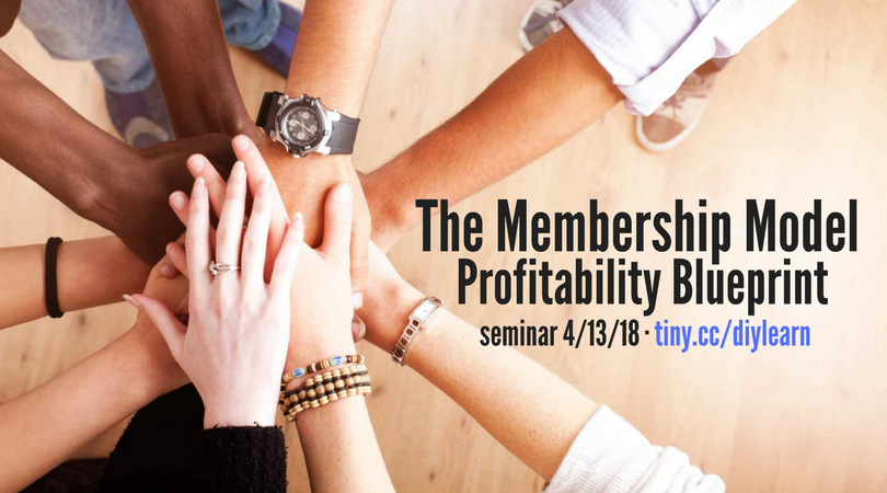 The Membership Model Profitability Blueprint Seminar
