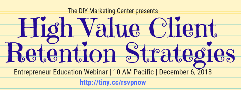 High Value Client Retention Strategies webinar
