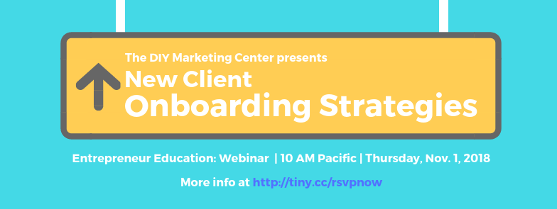 New Client Onboarding Strategies Webinar