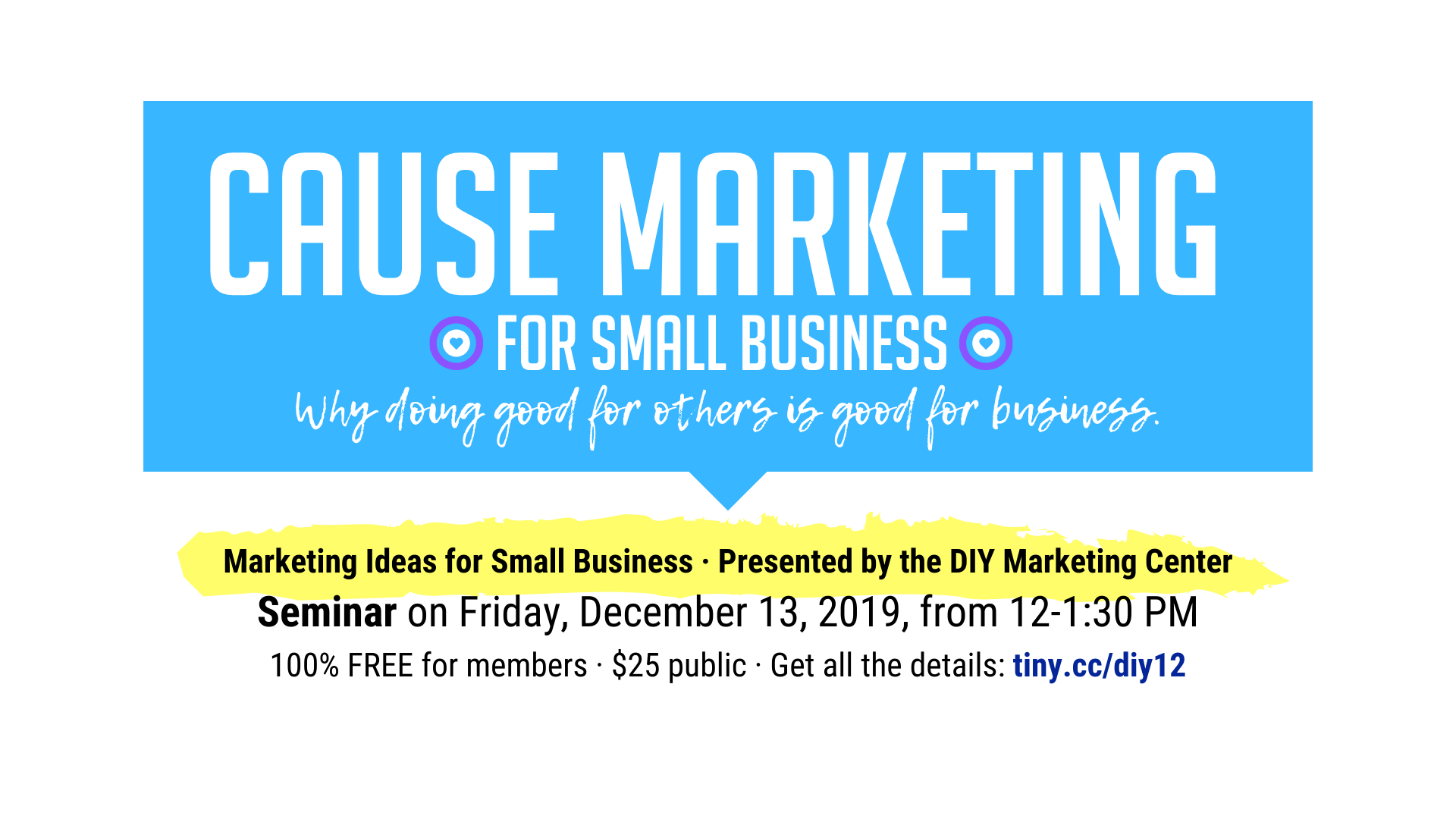 Cause Marketing for Small Business Why doing good for others is good for business