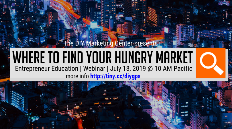 Where to Find Your Hungry Market Webinar All Members Welcome