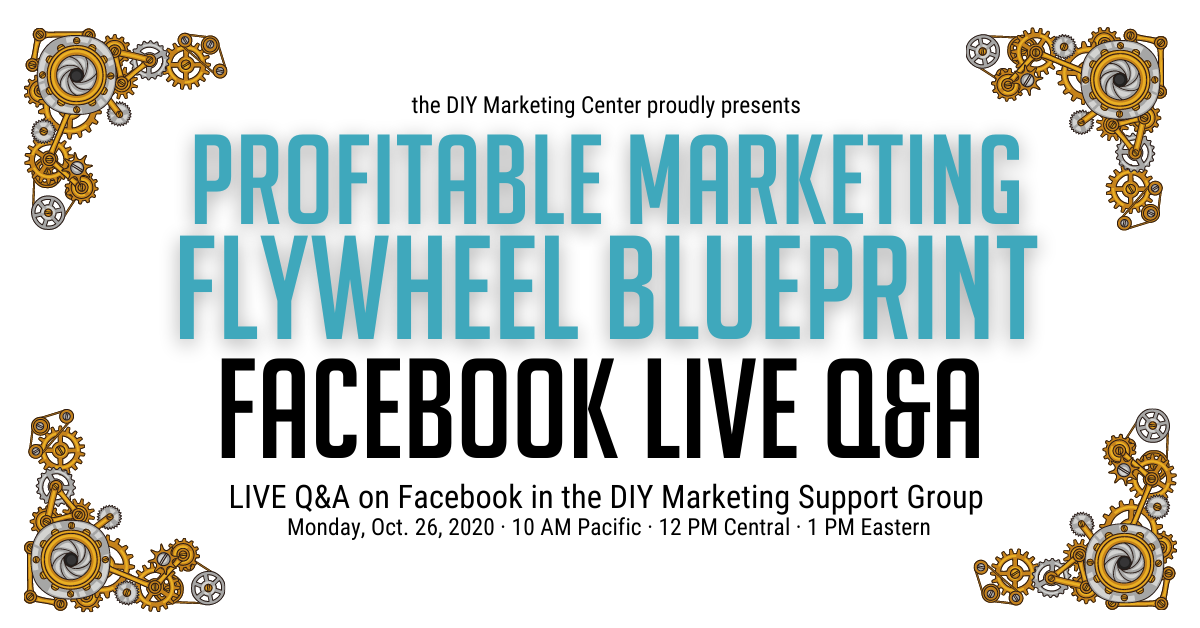 Facebook LIVE Q&A for the Flywheel Blueprint Class