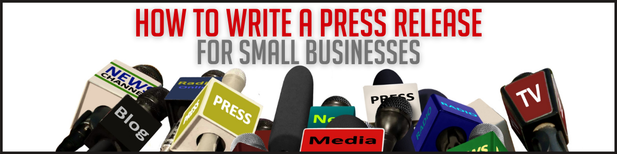 Want publicity? Learn how to write a press release Thursday