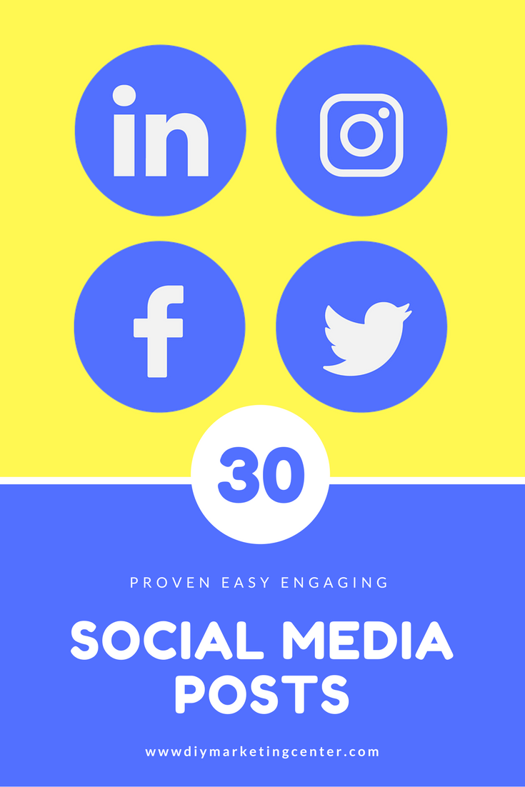 30+ Engaging Social Media Post Ideas