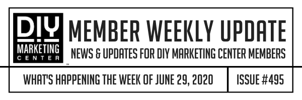 DIY Weekly Member Update · June 29, 2020 · #495
