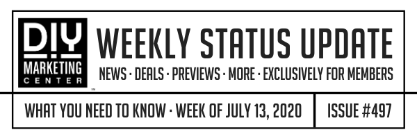 DIY Weekly Status Update � July 13, 2020 � #497