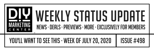 DIY Weekly Status Update � July 20, 2020 � #498