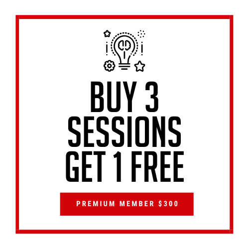 Premium Members: Buy 3 Get 1 Free Coaching Sessions