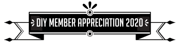 It's DIY Member Appreciation 2020! THANK YOU!