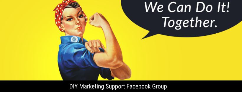 https://www.facebook.com/groups/diymarketingcenter/